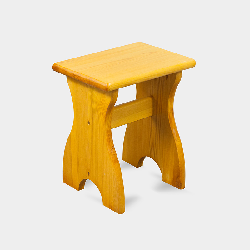 Taboret stołek do kuchni drewniany - ND