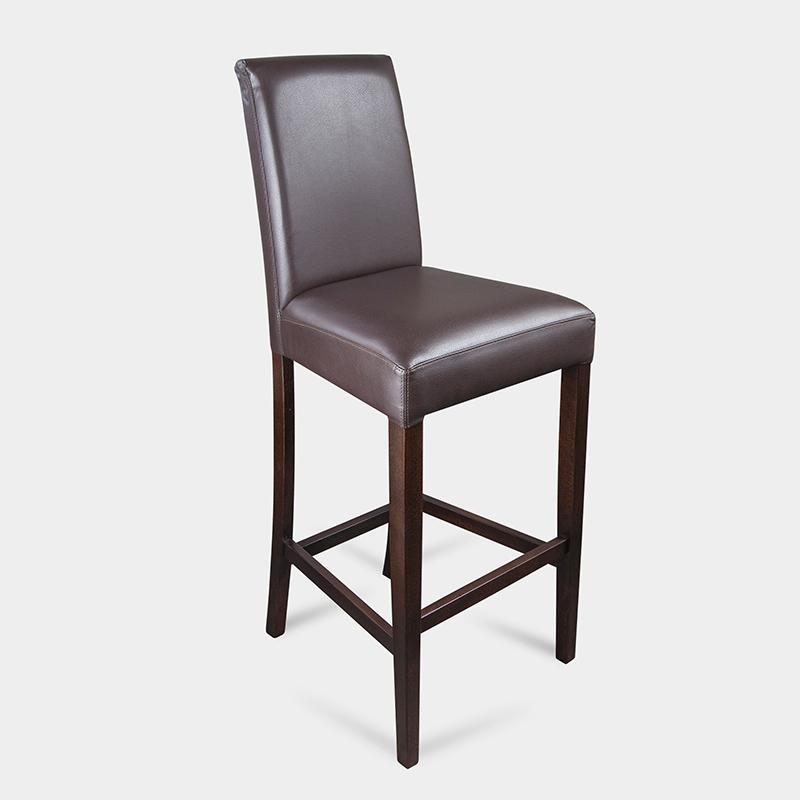 Krzesło tapicerowane barowe do kuchni - Bosco Bar